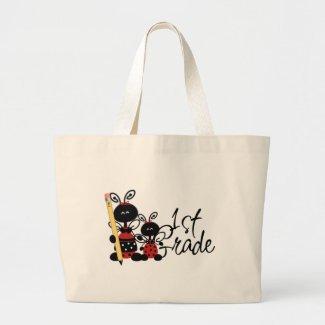 Ladybug 1st Grade Tshirts and Gifts bag