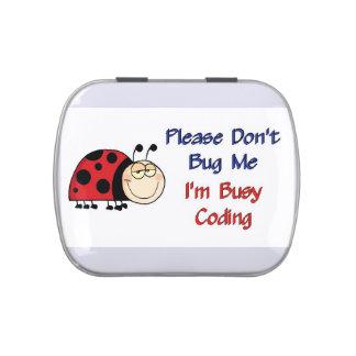 Ladybug-2 Medical Coder Jelly Belly Tin