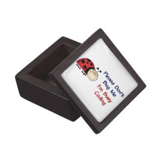 Ladybug-2 Medical Coder Jewelry Box