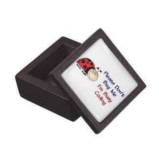 Ladybug-2 Medical Coder Keepsake Box