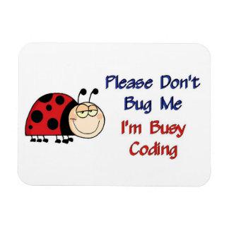 Ladybug-2 Medical Coder Magnet