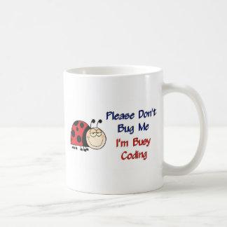 Ladybug-2 Medical Coder Classic White Coffee Mug