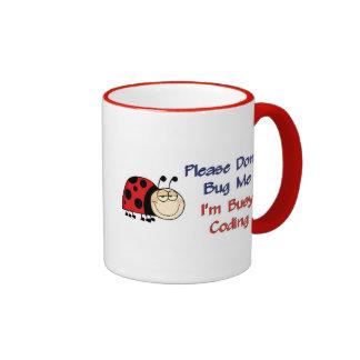 Ladybug-2 Medical Coder Ringer Mug