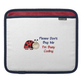 Ladybug-2 Medical Coder Sleeve For iPads