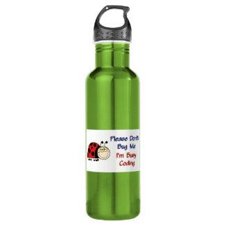 Ladybug-2 Medical Coder Stainless Steel Water Bottle