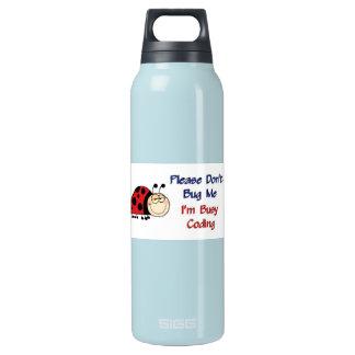 Ladybug-2 Medical Coder Thermos Water Bottle