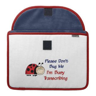 Ladybug-2 MT Sleeves For MacBooks
