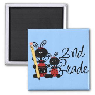 Ladybug 2nd Grade Tshirts and Gifts Magnet