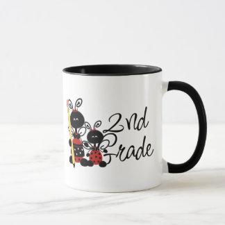 Ladybug 2nd Grade Tshirts and Gifts Mug