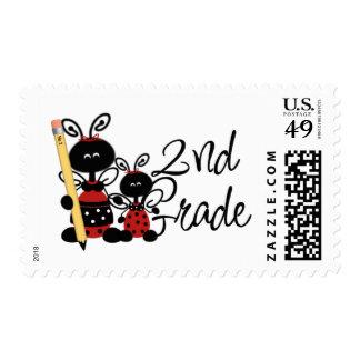 Ladybug 2nd Grade Tshirts and Gifts Postage Stamp