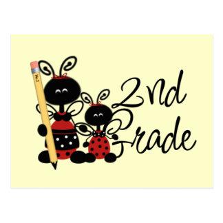 Ladybug 2nd Grade Tshirts and Gifts Postcard