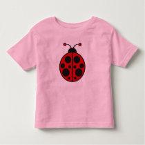 LadyBug 3 Toddler T-shirt