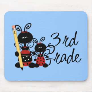 Ladybug 3rd Grade Tshirts and Gifts Mouse Pad