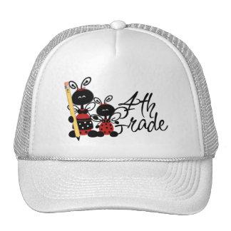 Ladybug 4th Grade Tshirts and Gifts Hat