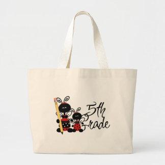 Ladybug 5th Grade Tshirts and Gifts Tote Bags