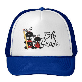 Ladybug 5th Grade Tshirts and Gifts Trucker Hat