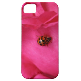 Ladybug and a Rose iPhone 5 Cover