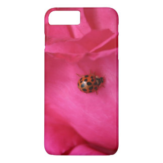 Ladybug and a Rose iPhone 7 Plus Case