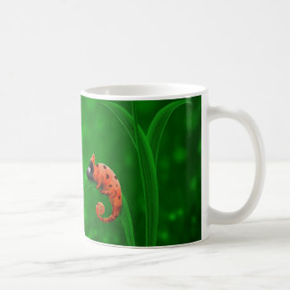Ladybug and Chameleon Classic White Coffee Mug