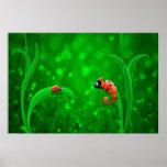 Ladybug and Chameleon Poster