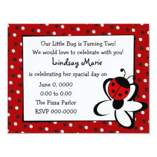 Ladybug and Daisy Card