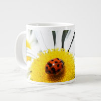 Ladybug and Daisy Jumbo Mug
