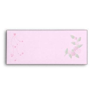 Ladybug and Flowers Envelope
