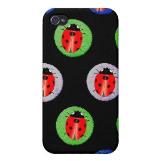 Ladybug and Polka Dot - Girly iPhone Cases