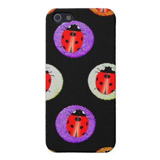 Ladybug and Polka Dot - iPhone 4 Cases