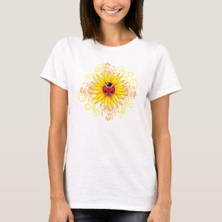 Ladybug and Sunflower Ladies Shirt