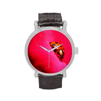 Ladybug and the Rose Wristwatch