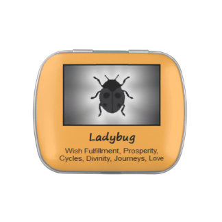 Ladybug Animal Spirit Meaning Collectible Candy Tin