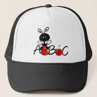 Ladybug Apples and ABC Trucker Hat