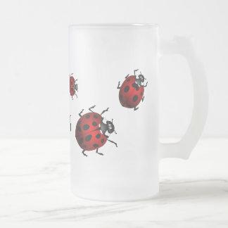 Ladybug Art Beer Mug Beer Glass Ladybug Cups