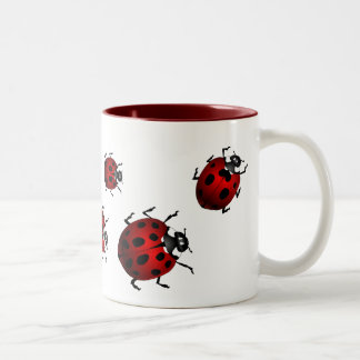 Ladybug Art Coffee Mug Beer Glass Ladybug  Cups