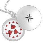 Ladybug Art Gifts Personalised Necklace
