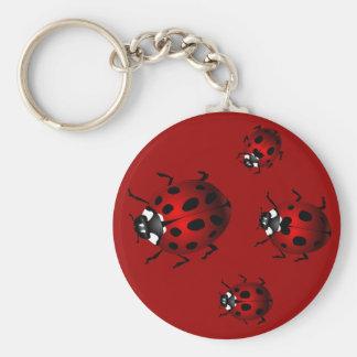 Ladybug Art Keychain Bug Keepsake Ladybug Gifts