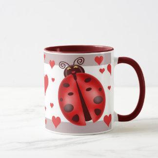 Ladybug Art Mug