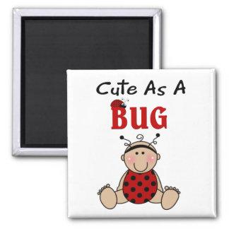 Ladybug Baby Cute As A Bug Magnet