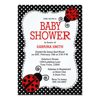 Ladybug Baby Shower Gifts On Zazzle, Baby Shower Invitations