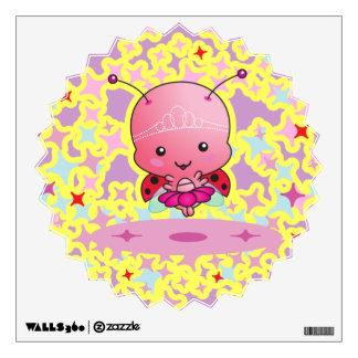 Ladybug Ballerina Room Graphics