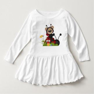 Ladybug Bear Red Black Cute Flowers Snail Tee Shirt