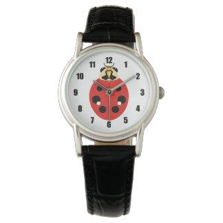 Ladybug Beetle Red Wrist Watch