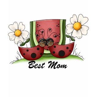 Ladybug Best Mom Shirt shirt