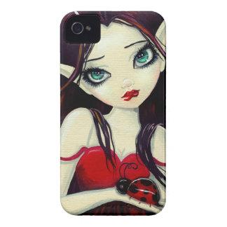 Ladybug Big-Eye Fairy Art iPhone 4 Case-Mate Cases