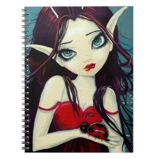Ladybug Big-Eye Fairy Art Notebook
