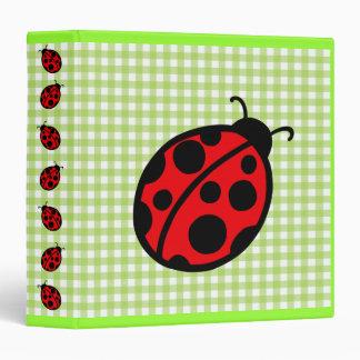 Ladybug Binder
