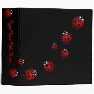Ladybug Binder Cute Ladybug Art School Supplies