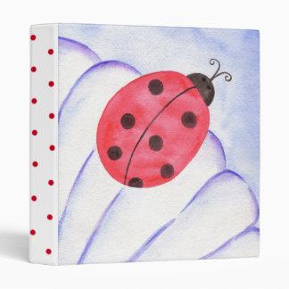 Ladybug Binder Scrapbook