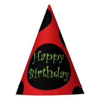 Ladybug Birthday Party Hat